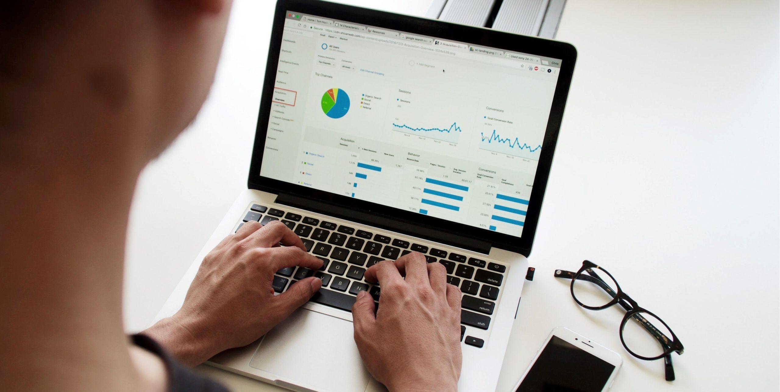 Suivi des KPI du site web